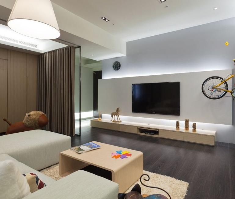 家裝裝修設計中流行電視背景墻背景墻有哪些?